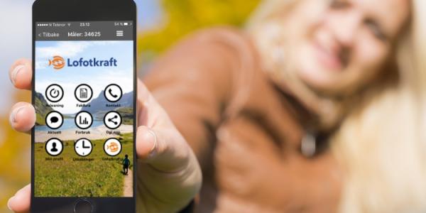 Lanserer ny kunde-app