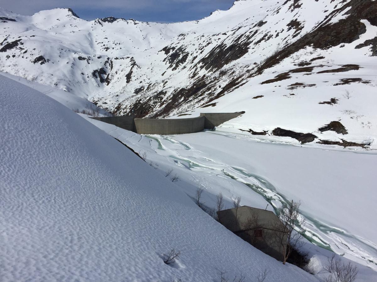 –Is på regulerte vann kan være ustabile.