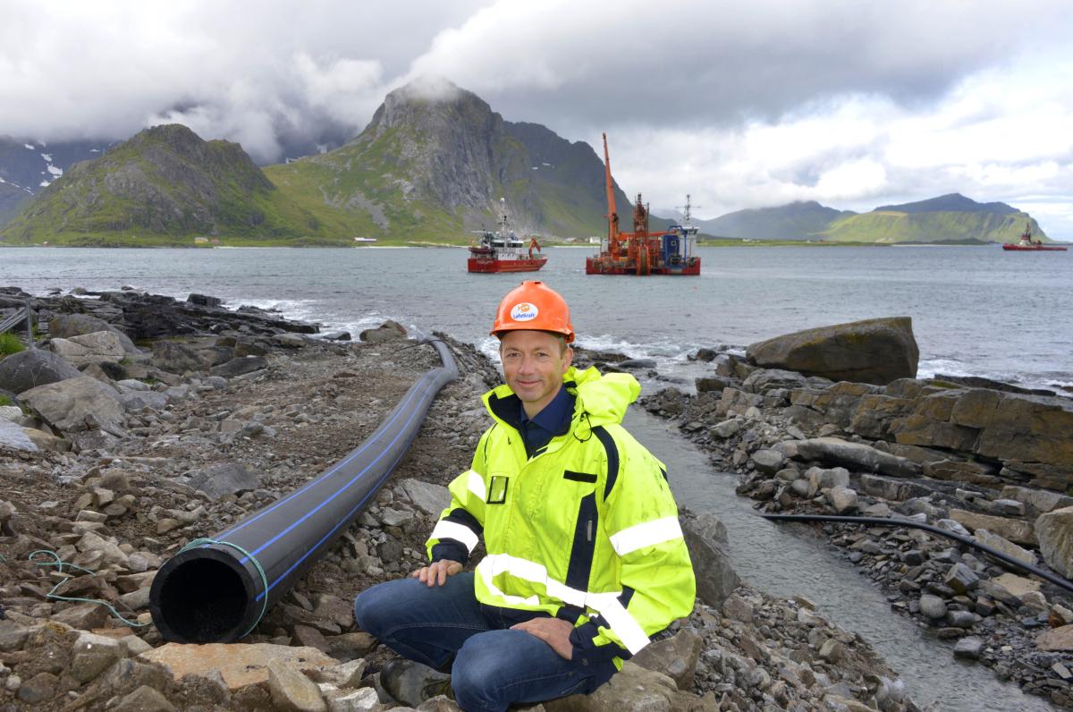 Nye sjøkabler – milepæl for Lofoten.