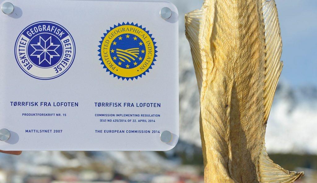 LOFOTGULL: Tørrfisk har fått EU-stempel som en nasjonal matskatt.