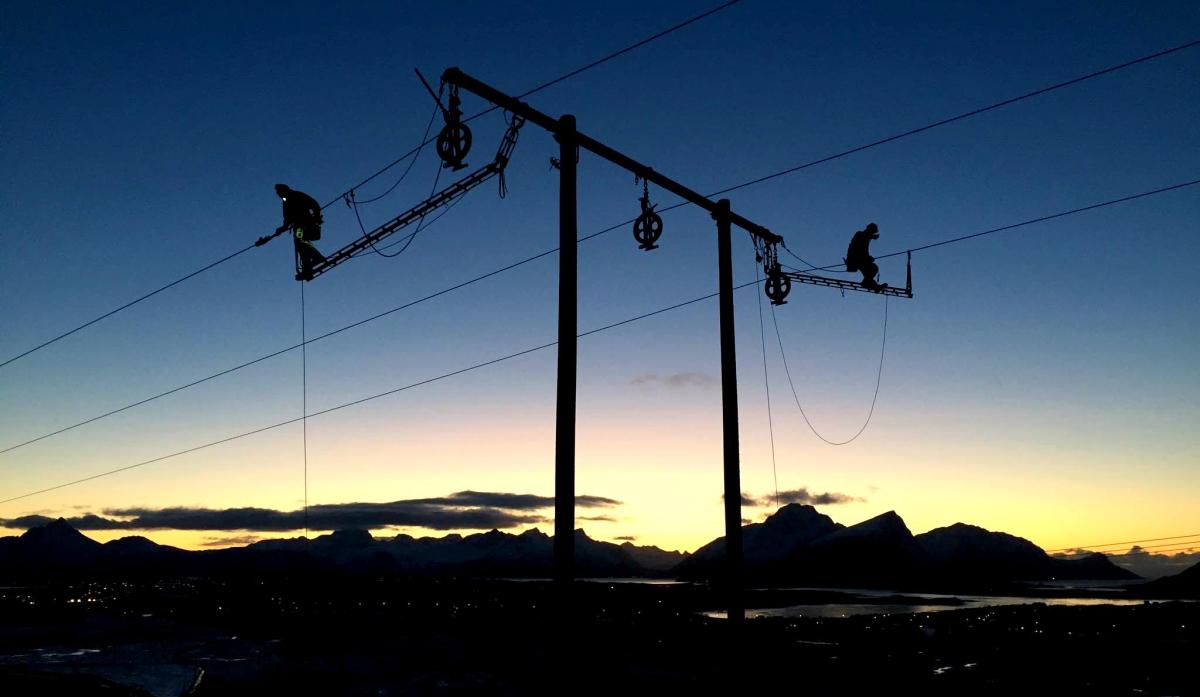 Ny strømlinje fra Kleppstad til Fygle åpnet.
