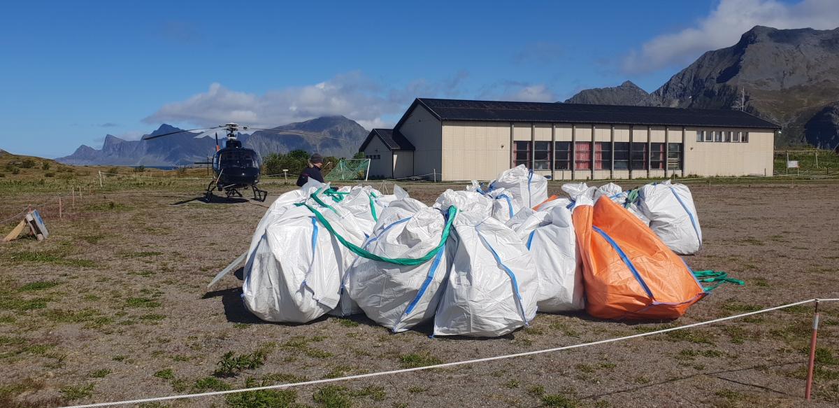 Lofotkraft støtter Clean Up Lofoten