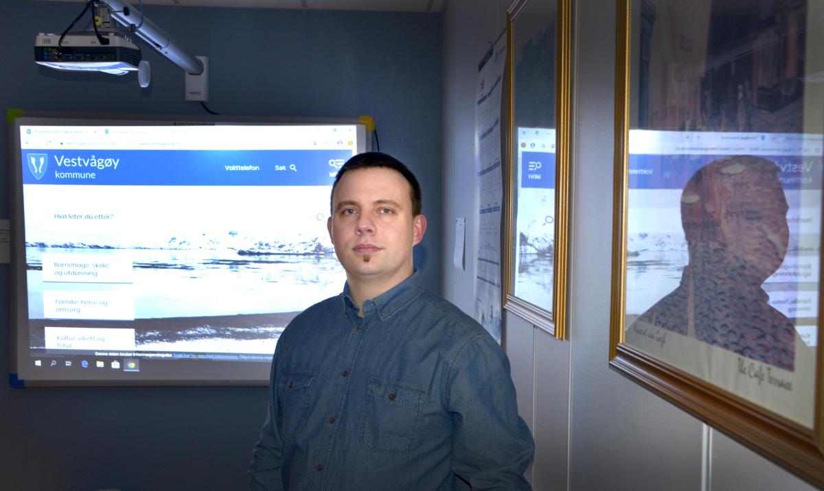 Vestvågøy kommune bruker nå fiber fra Lofotkraft bredbånd.