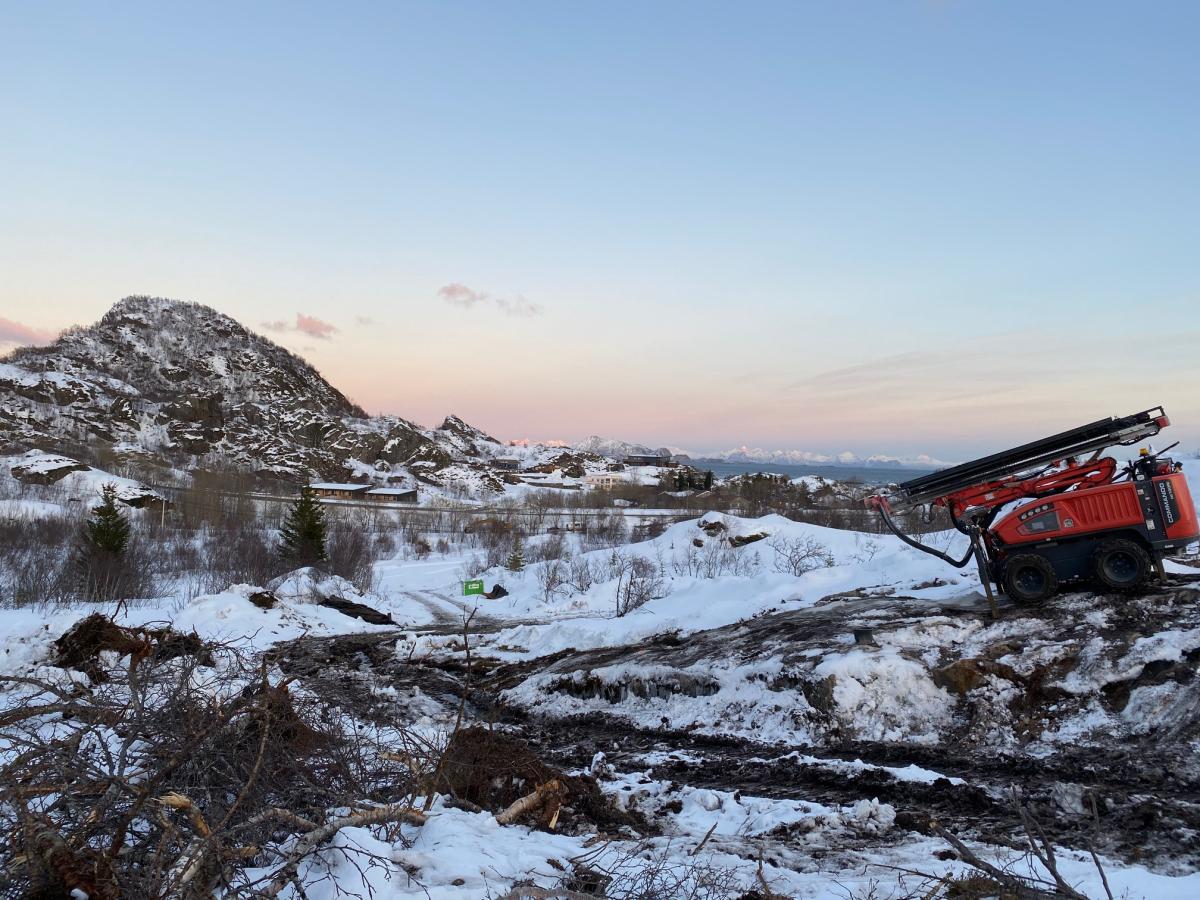 Lofotkraft legger ny strømkabel mellom Åvika og Kabelvåg