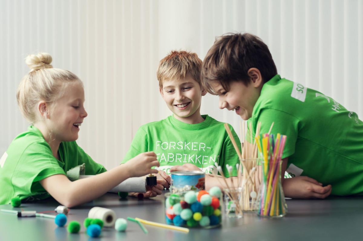 Hurra, det blir Sommerlab for 5.-7. klassinger i Svolvær og Leknes!