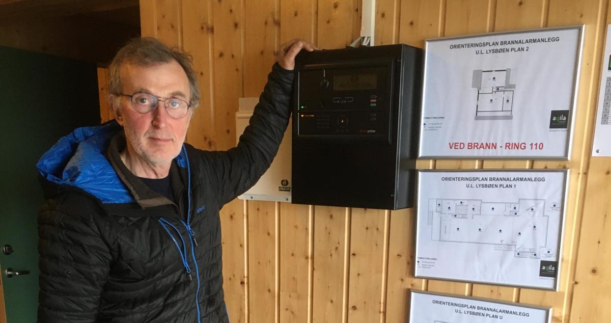 Fikk støtte fra Lofotkraftfondet til nytt brannvarslingsanlegg i jubileumsåret
