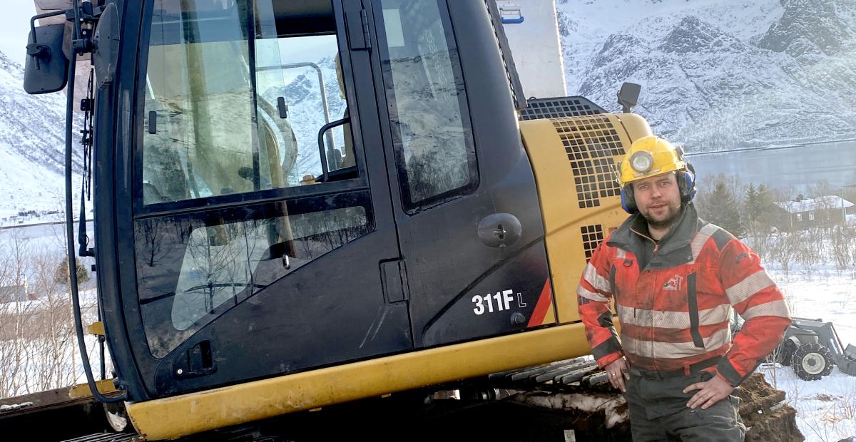 Krevende å bygge strømnett i Lofoten