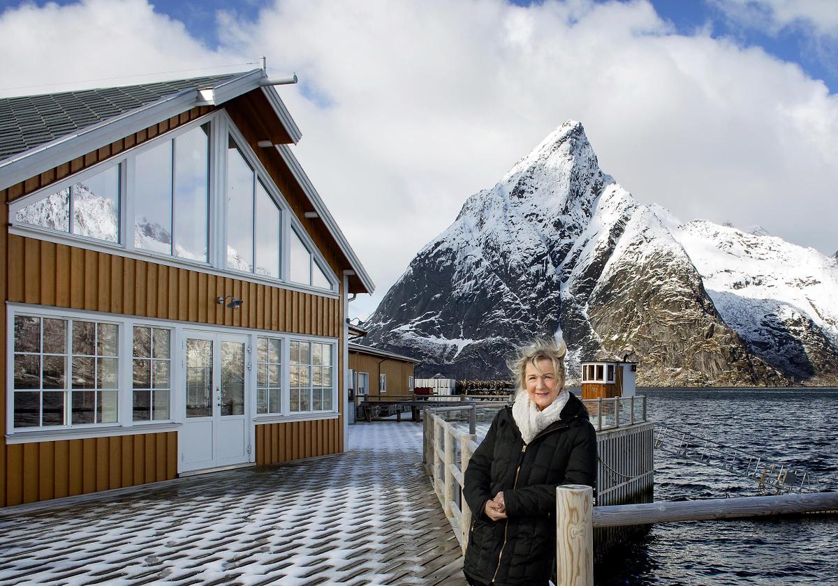 Anitas Sjømat: -Gleder meg veldig til å ta imot gjester igjen.