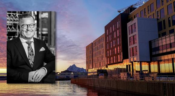Snart åpner det nye Thon-hotellet, men det er noe annet som holder hotelldirektøren våken om natta.