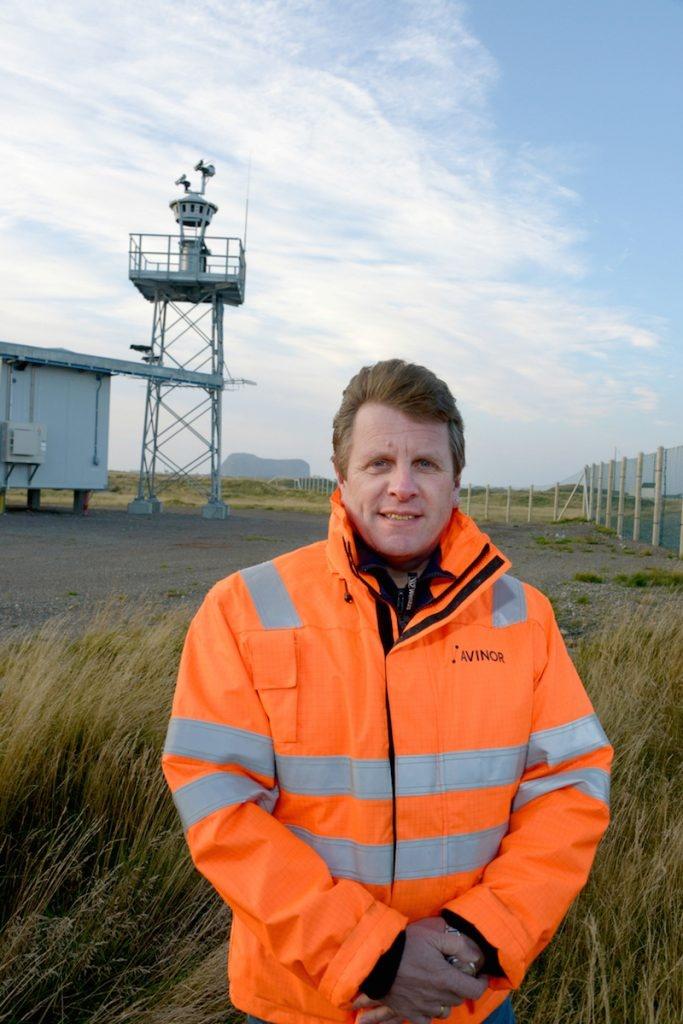 POPULÆR: –Flyplassen er enda viktigere for befolkningen på Røst i dag enn da den åpnet i 1986, sier driftsleder Brynjar Åsland.