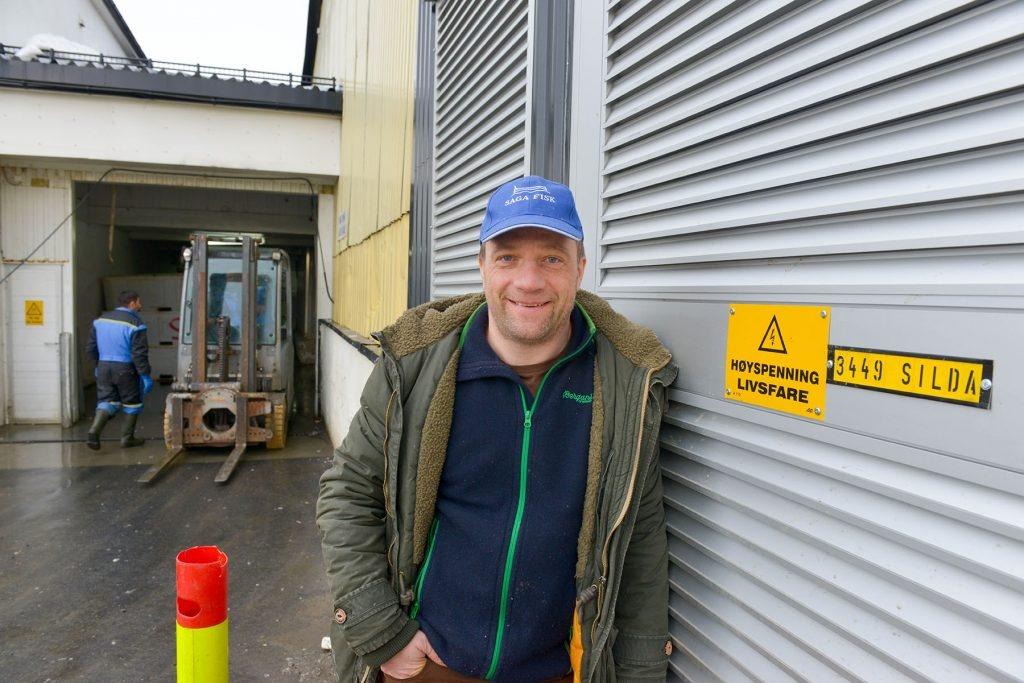 Lofoten, Saga fisk as. Daglig Leder, Erling S. Falch.