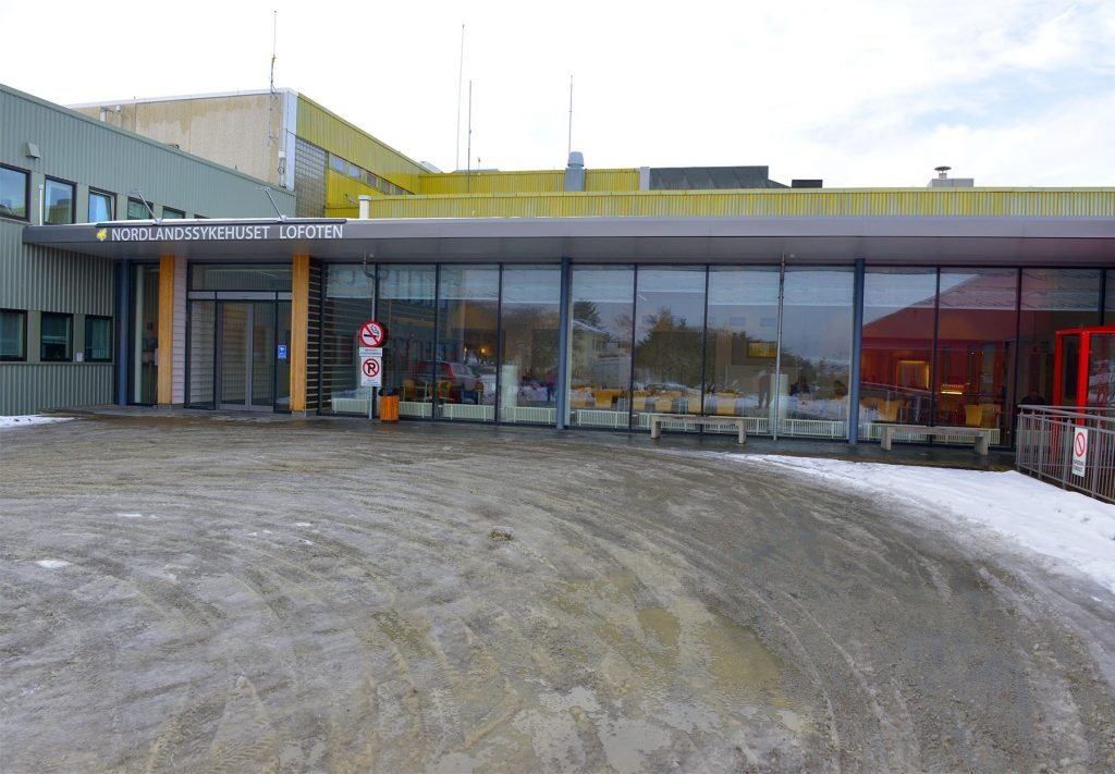 Lofotkraft Nordlandssykehuset Lofoten Foto: Tore Berntsen, Visualdays.no