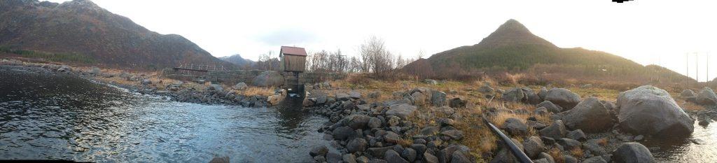 Store Kongsvann gammel dam_luke_kanal